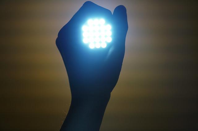 停電時の懐中電灯