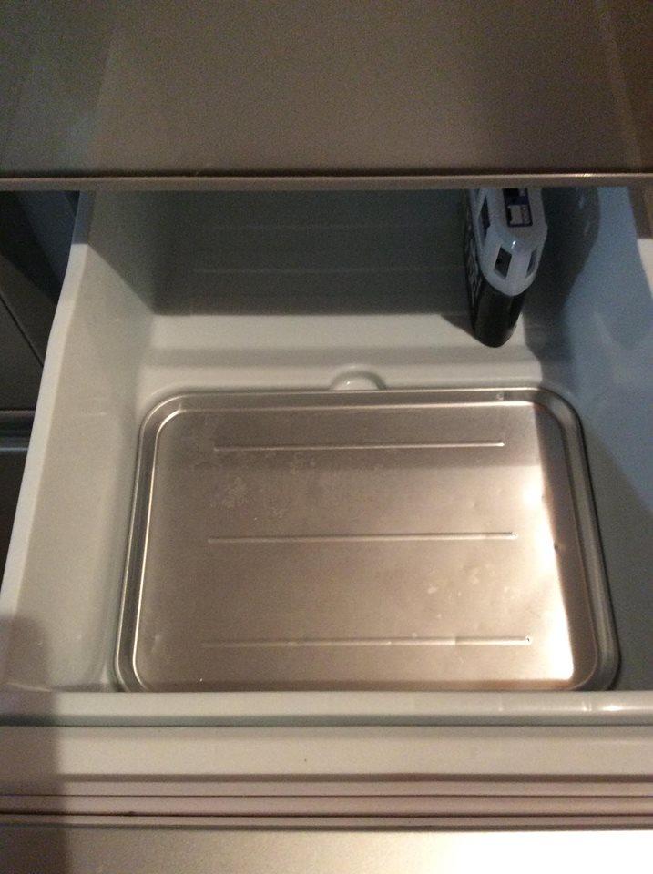 冷凍庫の片付け