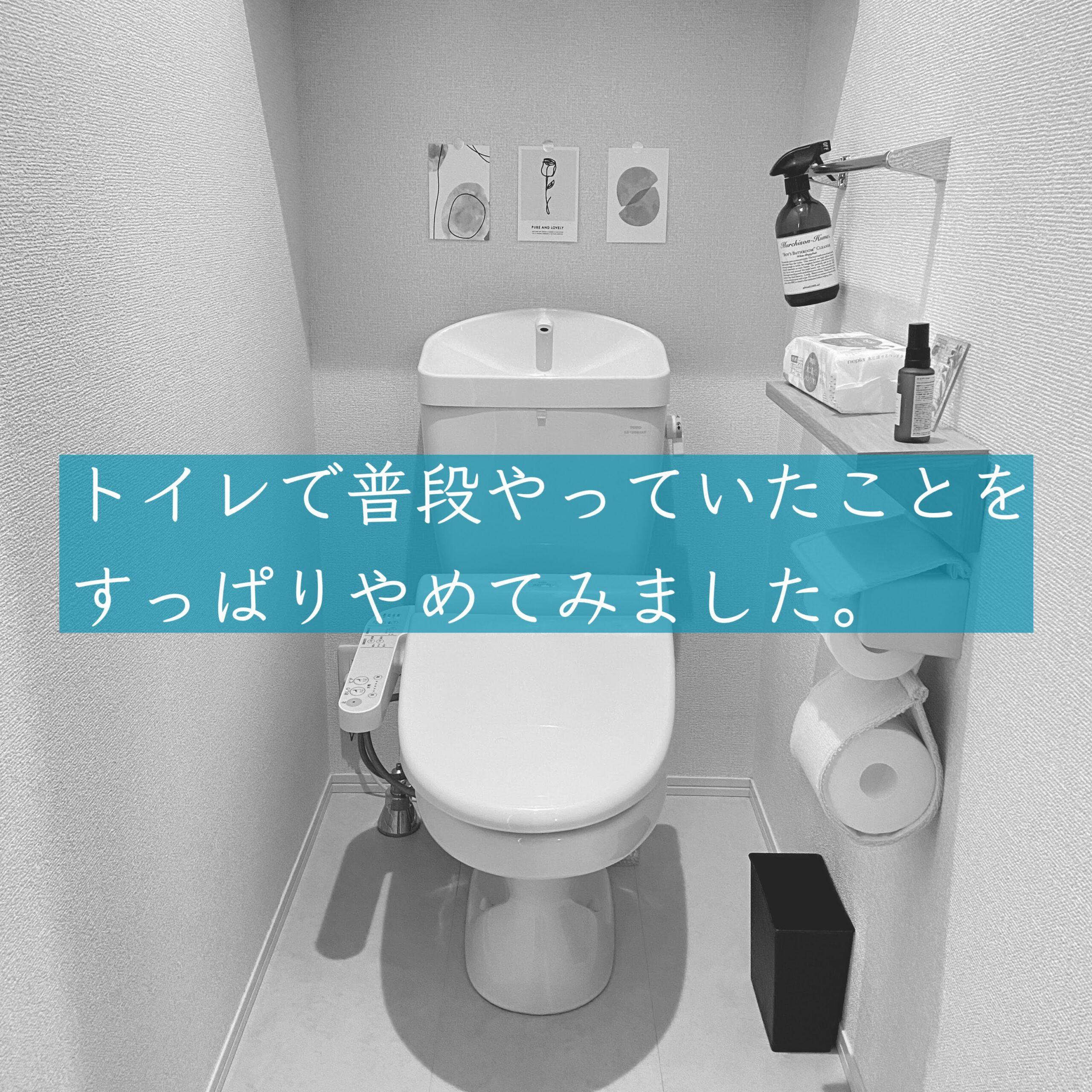 トイレの家事